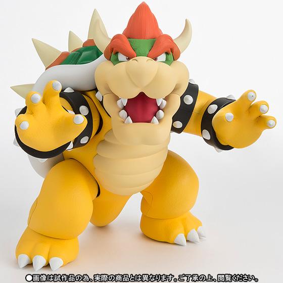 Super Mario Bros S H Figuarts Action Figure Bowser King