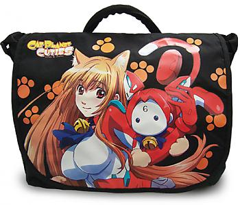 Cat Planet Cuties Messenger Bag - Eris and Assist-A-Roid