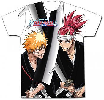 Bleach T-Shirt - Ichigo Vs. Renji Sword Crossed (XXL)