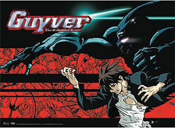 Guyver Wall Scroll - Fighting Stance [LONG]