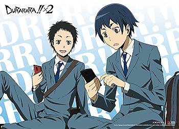 Durarara!! X2 Wall Scroll - Mikado & Aoba [LONG]
