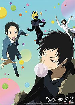 Durarara!! X2 Wall Scroll - Group Color Bubbles