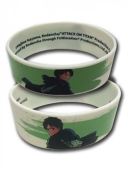 Attack on Titan Wristband - Levi & Eren