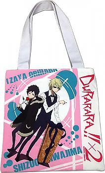Durarara!! X2 Tote Bag - Izaya & Shizuo