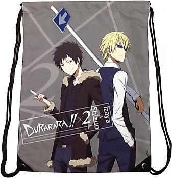 Durarara!! Drawstring Backpack - Izaya & Shizuo