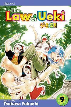 The Law of Ueki Manga Vol.   9: Celestial Power!