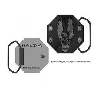 Halo 4 Belt Buckle - Antique UNSC