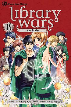 Library Wars: Love and War Manga Vol.  15