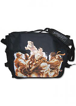 Street Fighter IV Messenger Bag - Ken, Akuma and Ryu