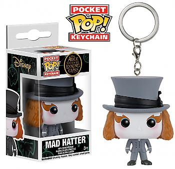 Through the Looking Glass Pocket POP! Key Chain - Mad Hatter (Disney)