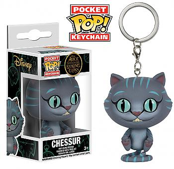 Through the Looking Glass Pocket POP! Key Chain - Cheshire Cat (Disney)