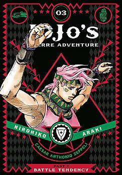 JoJo's Bizarre Adventure Part 2 Battle Tendency Manga Vol.   3