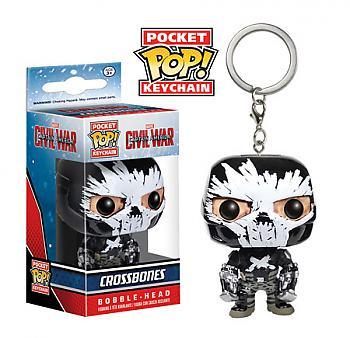 Captain America Civil War Pocket POP! Key Chain - Crossbones
