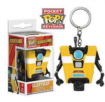 Borderlands Pocket POP! Key Chain - Claptrap