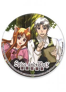Spice and Wolf Button - Holo and Kraft