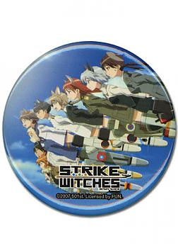 Strike Witches Button - Crew
