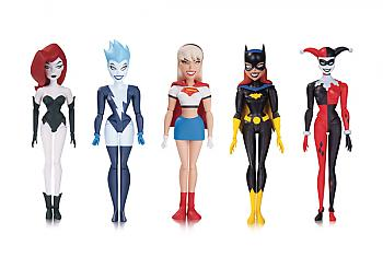 The Animated Series Batman Action Figure - Girls Night Out (Set of 5)