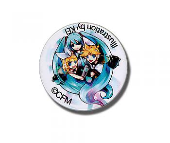 Vocaloid 1.25'' Button - Miku, Lin and Len