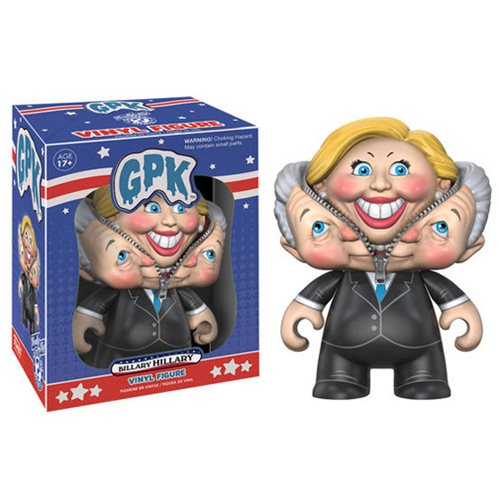 Garbage Pail Kids Vinyl Figure - Billary Hillary Garbage Patch Kids (Campaign 2016)