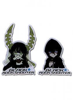 Black Rock Shooter Pins - BRS & Dead Master (Set of 2)