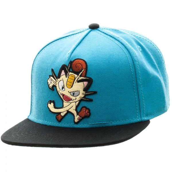 917cf7a2460 Pokemon Cap - Meowth Color Block Snapback  Archonia US
