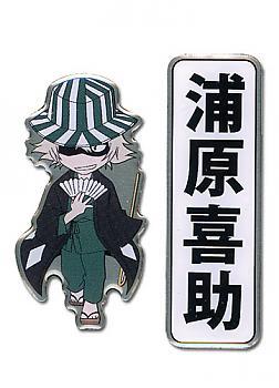 Bleach Pins - Urahara Kisuke and Kanji (Set of 2)