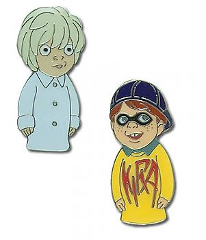 Death Note Pins - Kira and Near Puppet (Set of 2)