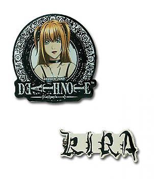 Death Note Pins - Misa and Kira (Set of 2)