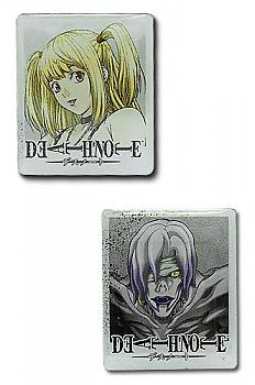 Death Note Pins - Misa and Rem (Set of 2)