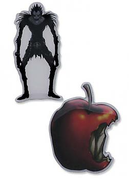 Death Note Pins - Ryuk and Apple (Set of 2)