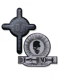 Death Note Pins - Skull and Cross (Set of 2)