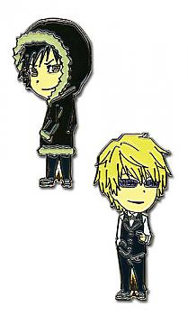 Durarara!! Pins - Izaya and Shizuo (Set of 2)