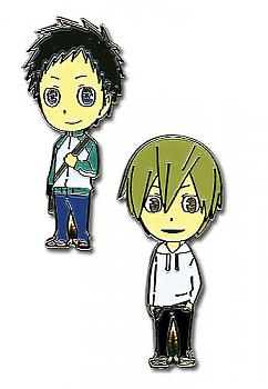 Durarara!! Pins - Midado and Masaomi (Set of 2)