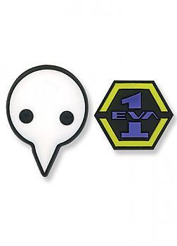 Evangelion Pins - EVA 1 and Shito Angel (Set of 2)
