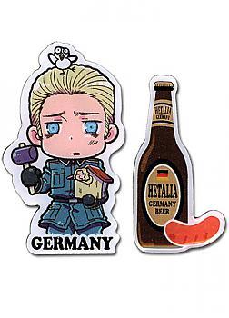 Hetalia Pins - Germany and Beer (Set of 2)