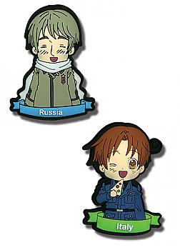 Hetalia Pins - Italy & Russia (Set of 2)