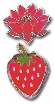 Nana Pins - Strawberry and Lotus (Set of 2)