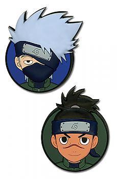 Naruto Shippuden Pins - Kakashi and Iruka (Set of 2)