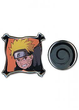 Naruto Shippuden Pins - Raging Naruto and Uzushio Clan Symbol (Set of 2)