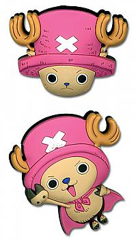 One Piece Pins - Chopper Head and Chopperman (Set of 2)