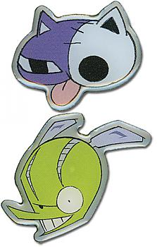 Panty & Stocking Pins - Hollow Kitty and Chuck (Set of 2)