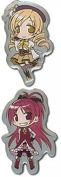 Puella Magi Madoka Magica Pins - Mami and Kyoko (Set of 2)