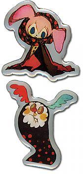 Puella Magi Madoka Magica Pins - Witches (Set of 2)