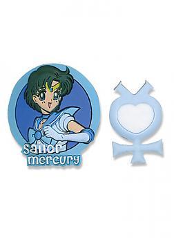 Sailor Moon Pins - Mercury and Planetary Symbol (Set of 2)