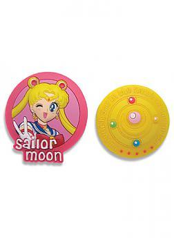 Sailor Moon Pins - Usagi and Brooch (Set of 2)