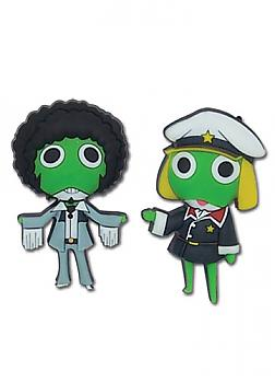 Sgt. Frog Pins - Afro and Captain Keroro (Set of 2)