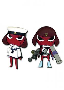 Sgt. Frog Pins - Sailor Giroro and Mecha Giroro (Set of 2)