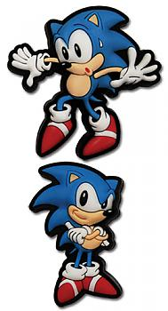 Sonic The Hedgehog Pins - Sneak and Pose Sonic (Set of 2)