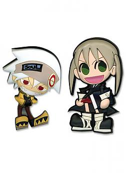 Soul Eater Pins - Soul and Maka (Set of 2)