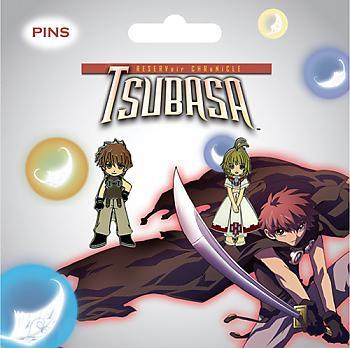 Tsubasa Pins - Sakura and Syaoran (Set of 2)